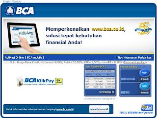 cara daftar klikbca internet banking