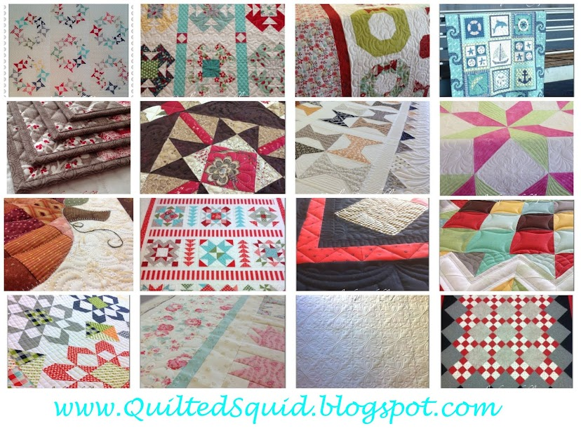QuiltedSquid LongArm Machine Quilting Services