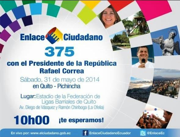 Sabatina de Correa 375 del 31 mayo 2014