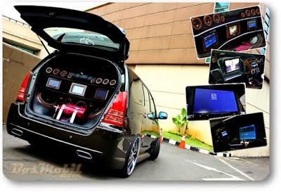 Modifikasi Mobil Toyota Innova Elegan