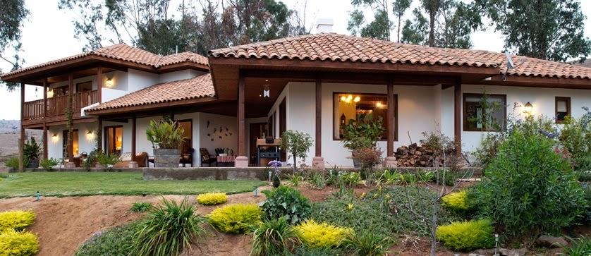 Fachadas de casas coloniales chilenas fachadas de casas diferentes estilos - Fachadas casas de campo ...