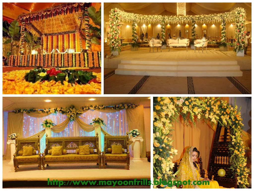 Mehndi Flower Arrangements : Mesmerize the mehndi ceremony with unique flower arrangements