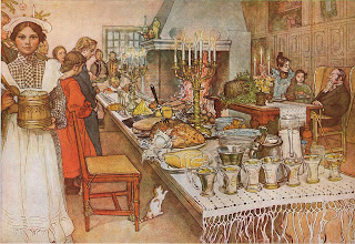 Tradtionally fish is served in Italy on Christmas Eve