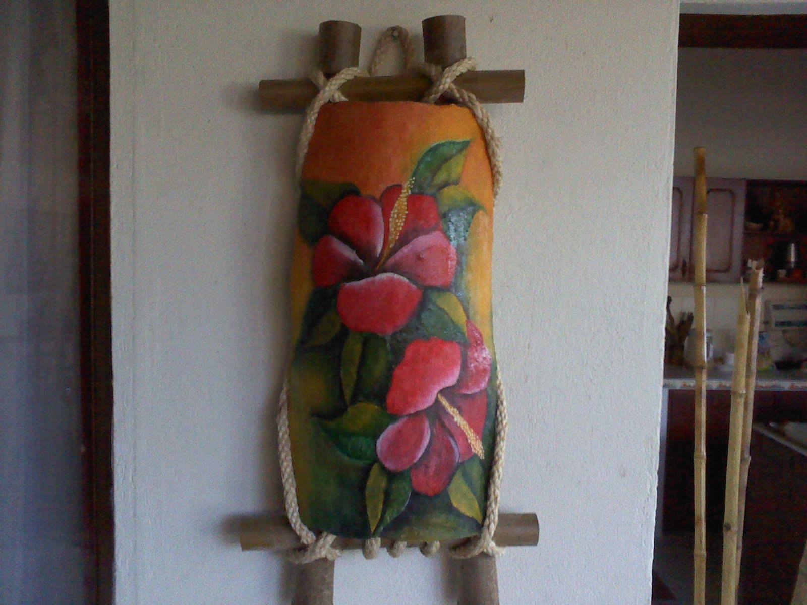 Pintura sobre tejas manualidades camerom - Pintura para tejas ...