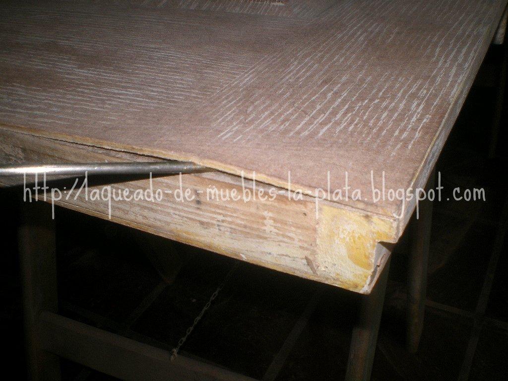 Muebles de madera restauraci n lustre y laqueado - Como limpiar puertas de madera ...