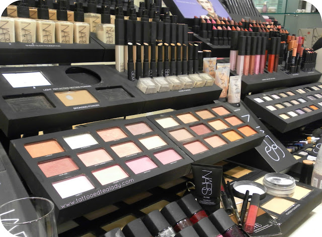 A picture of a NARS makeover