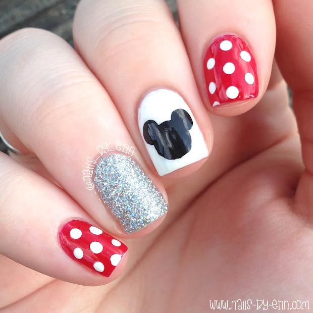 nailsbyerin disney nails 2015