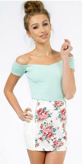 Floral Secrets Skirt