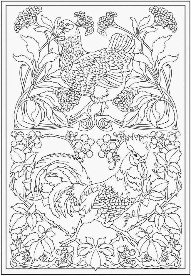 Complex Colouring Pages : Printable adult complex coloring pages
