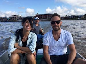 Iquitos, Peru - Crossing Lago Bonito.