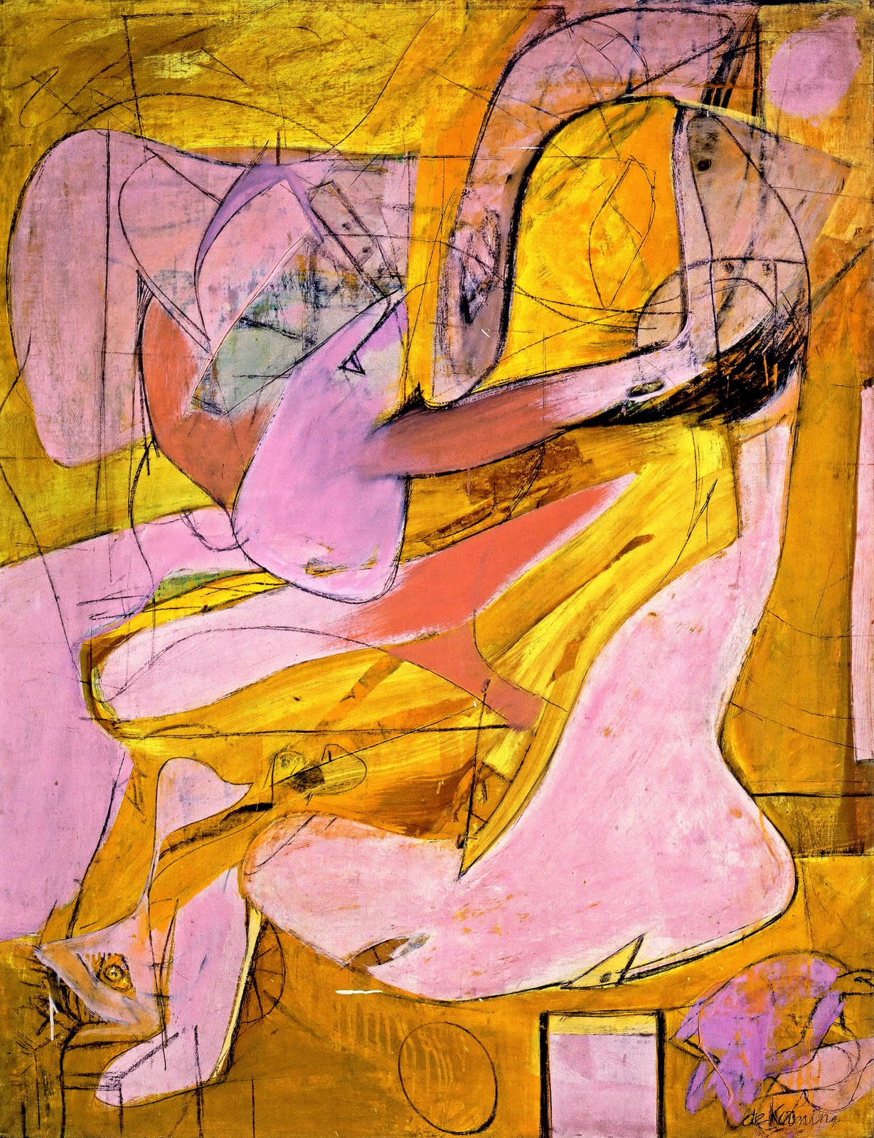 Deportation Constant Fear For >> Counterlight's Peculiars: Willem de Kooning: The ...