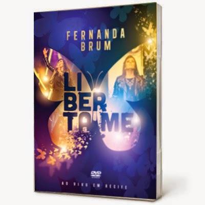 Fernanda Brum Liberta-me DVD-R