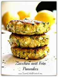 Zucchini and Feta Pancakes