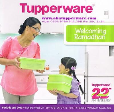 Tupperware Promo Juli 2013