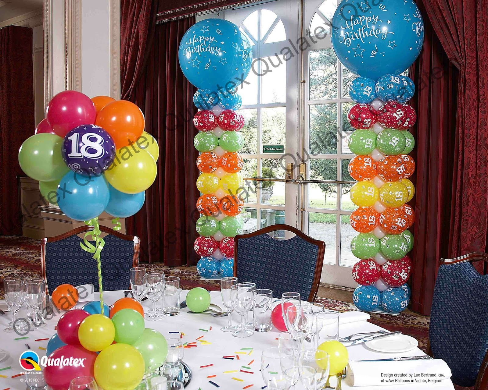The very best balloon blog market your business with a for Balloon decoration business
