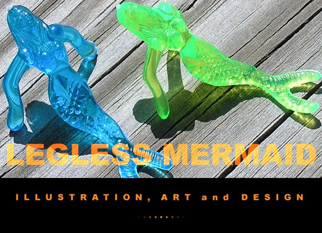 LEGLESS MERMAID