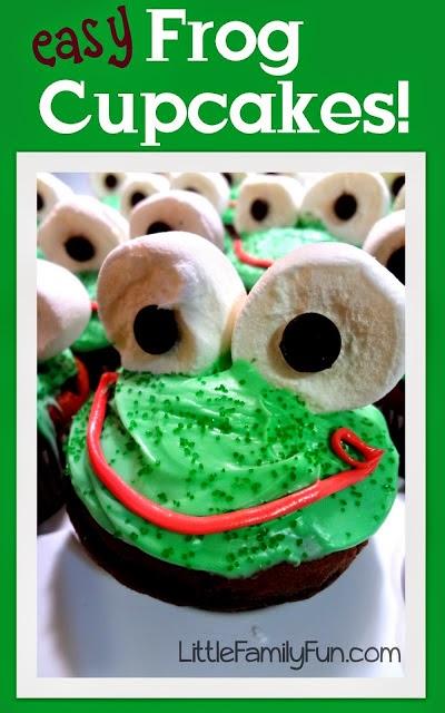 http://www.littlefamilyfun.com/2013/01/easy-frog-cupcakes.html