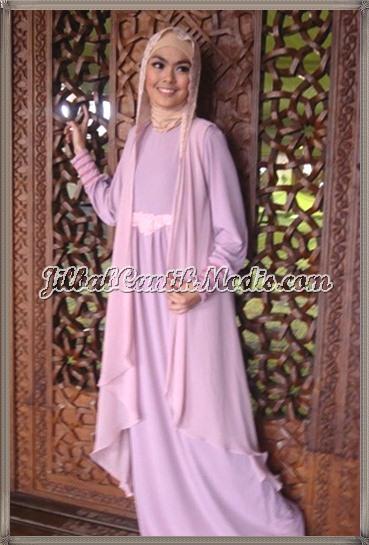 Baju Gamis Ramadhan Jilbab Cantik Modis