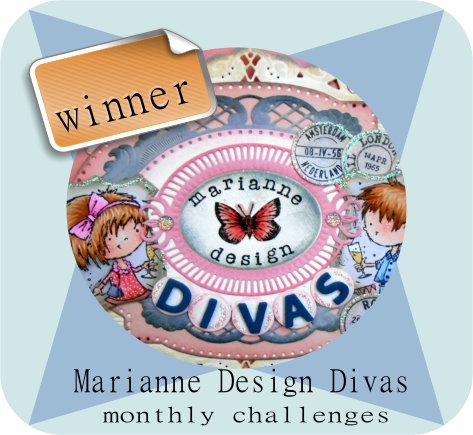 Tweede prijs challenge shaped cards