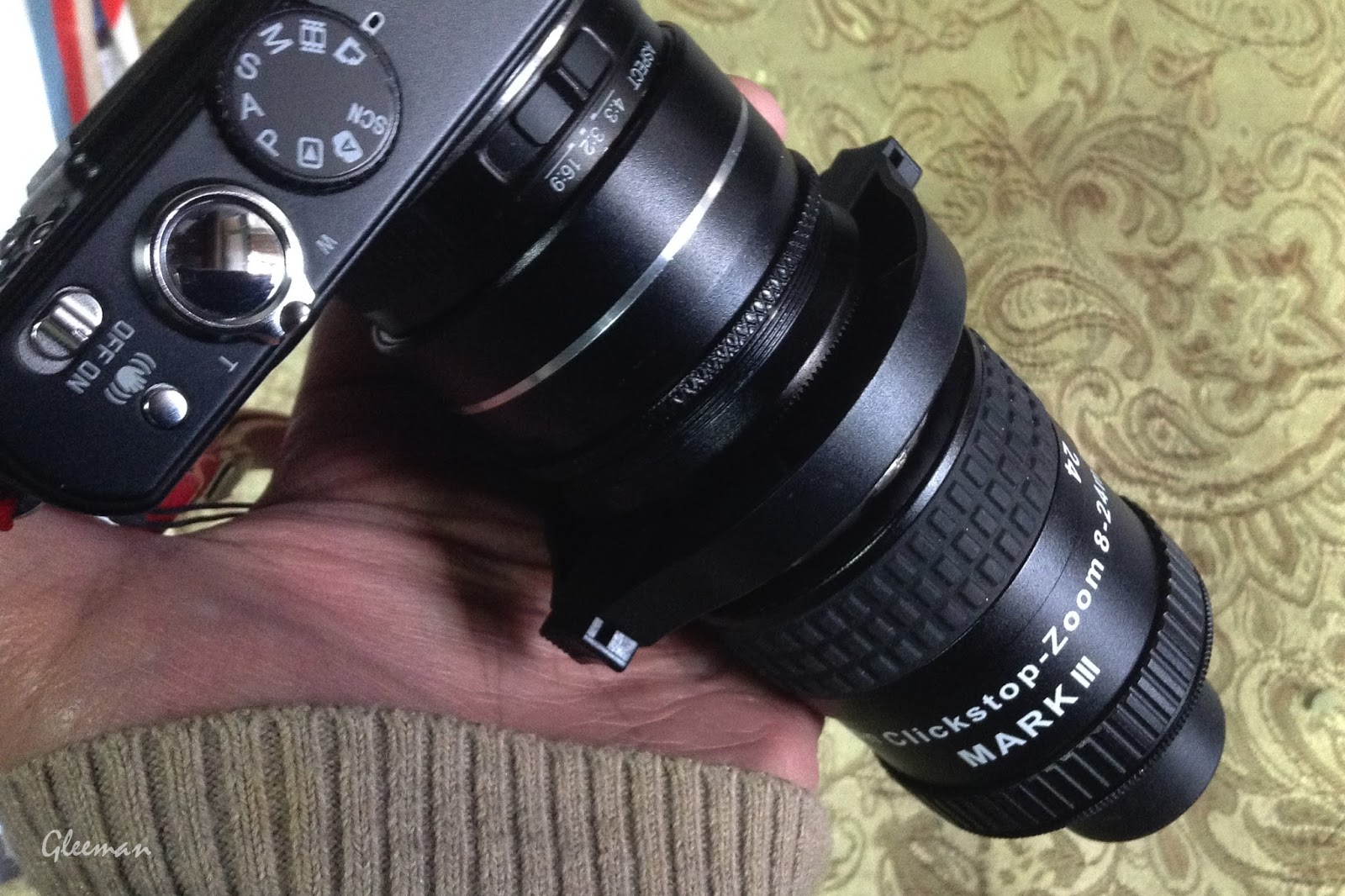 快扣接環 對於有外接套筒的DC及小無反相機非常快適