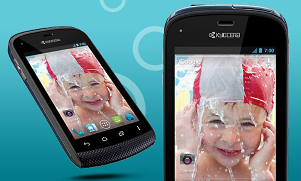 Water Proof Android ICS Phone by Kyocera Hydro (Sprint Mobiles)