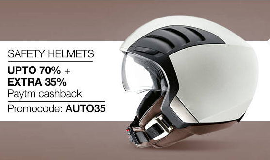 Buy SAFETY HELMETS Upto50%+Extra 50% Paytm cash