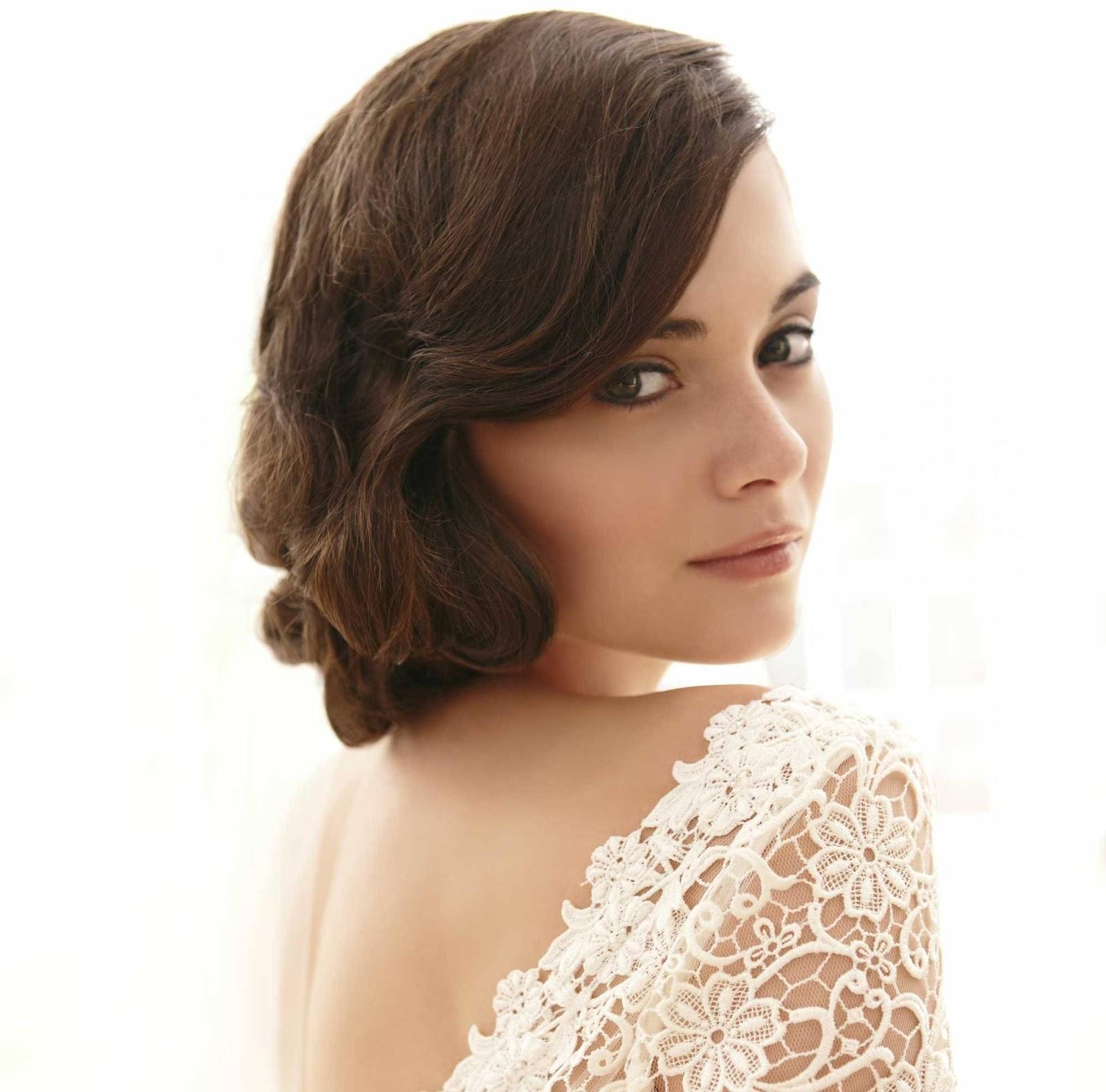Peinados novias 2013 retro