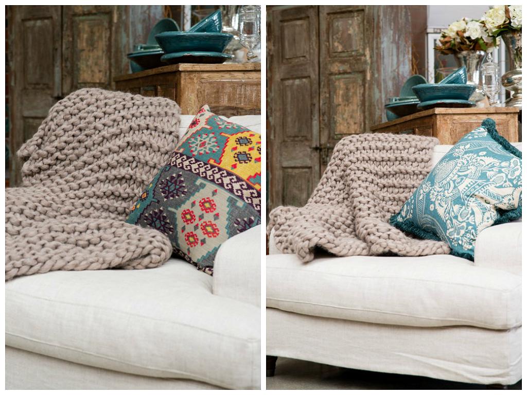 Mantas de lana hechas a mano imagui - Mantas de lana hechas a mano ...
