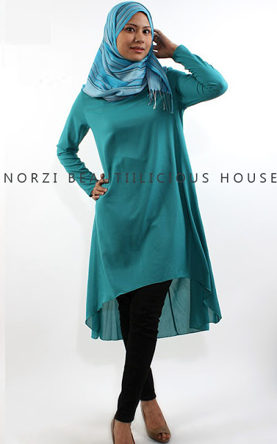 MODEL MUSLIMAH NORZI BEAUTILICIOUS HOUSE