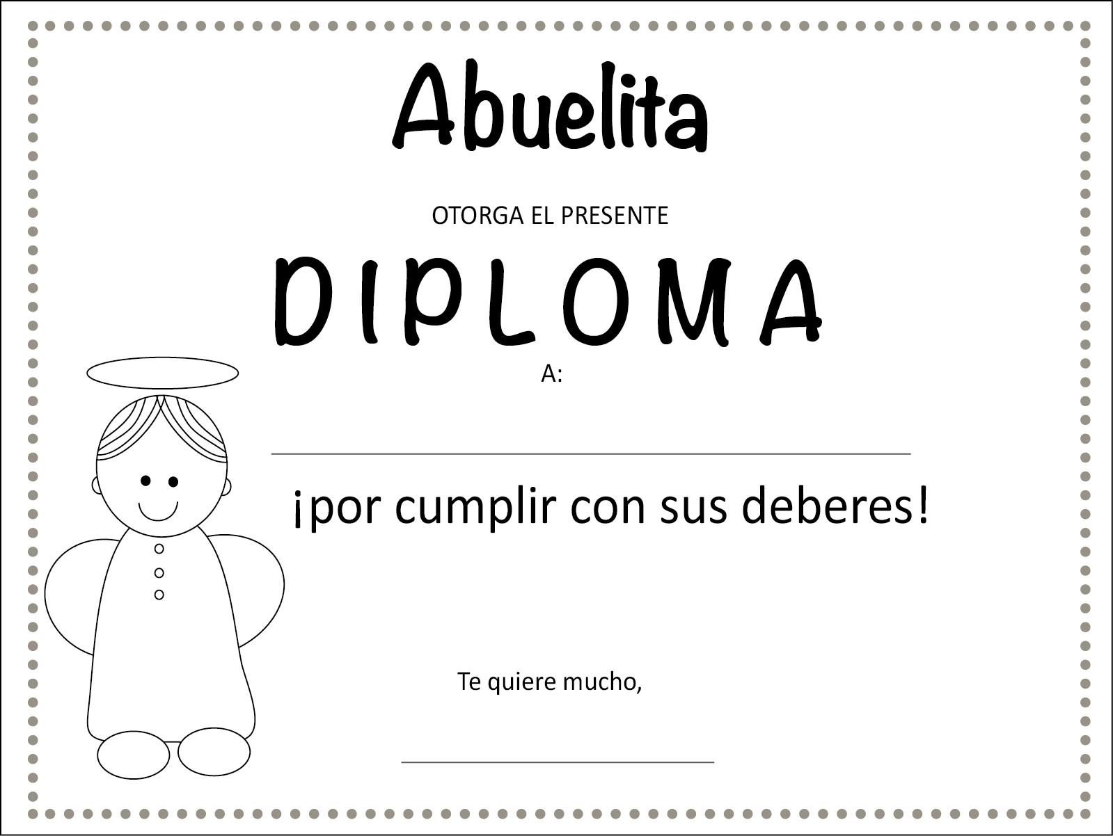 Dibujos De Diplomas Para Imprimir Dibujos De Diplomas Para Imprimir