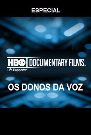 HBO Especial Dublagem Os Donos da Voz SDTV XviD Dublado os 2Bdonos 2Bda 2Bvoz capa
