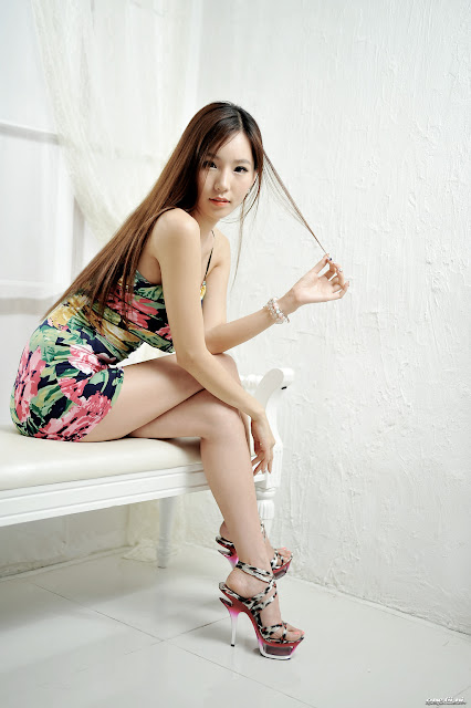 4 Beautiful Lee Ji Min - very cute asian girl - girlcute4u.blogspot.com