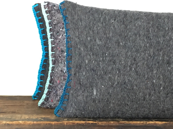 Basic pillows, moving blanket and crochet by et aussi