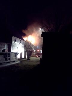 Woman dies in morning fire