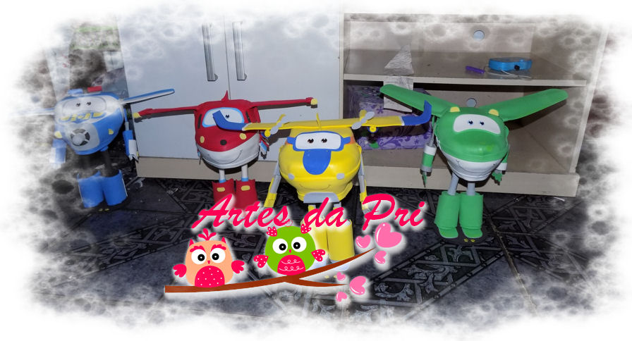 decoracao festa super wingsArtes da Pri Aviões Super Wings