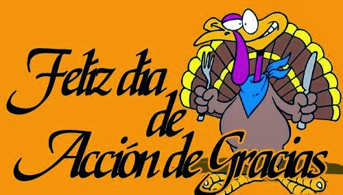 Thanksgiving Lesson in Spanish Class