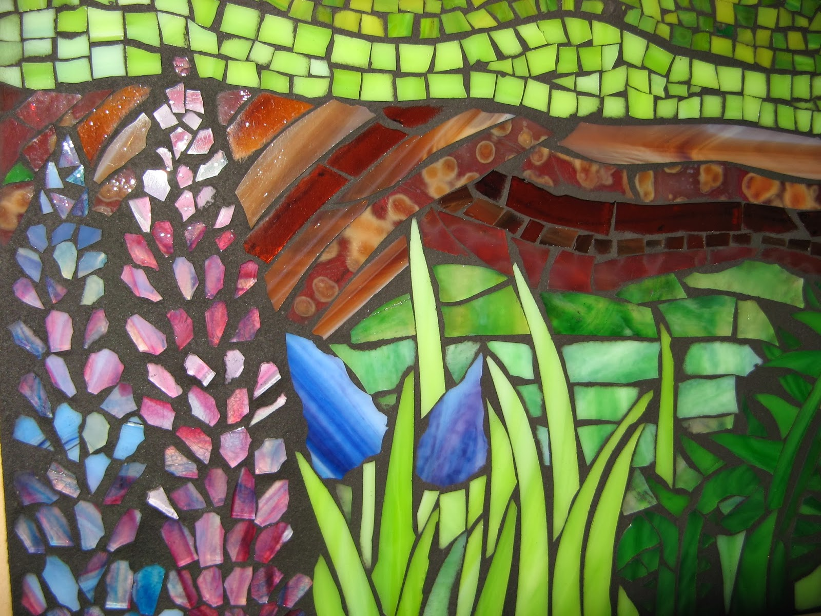 """Spring Detail from """"Four Seasons"""" commission"""