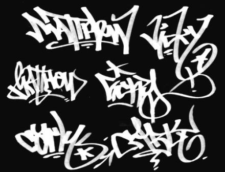 Graffiti Names