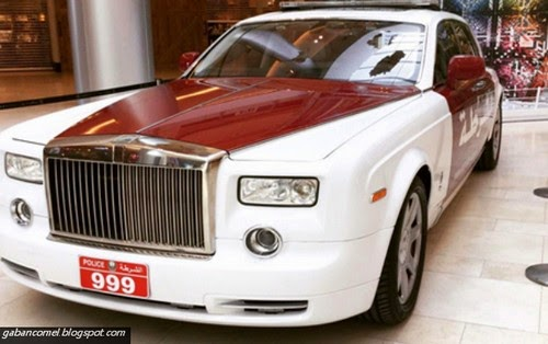 Menarik Rolls Royce Phantom Jadi Kereta Peronda Polis Abu Dhabi Paling Mewah Didunia