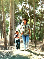 MI HERMANA CARMEN Y MI SOBRINO PERCY JUNIOR
