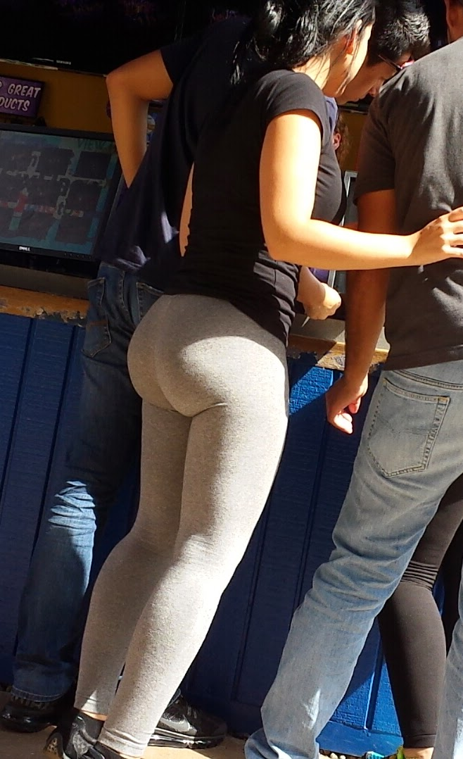 Same yoga pants voyeur Half the