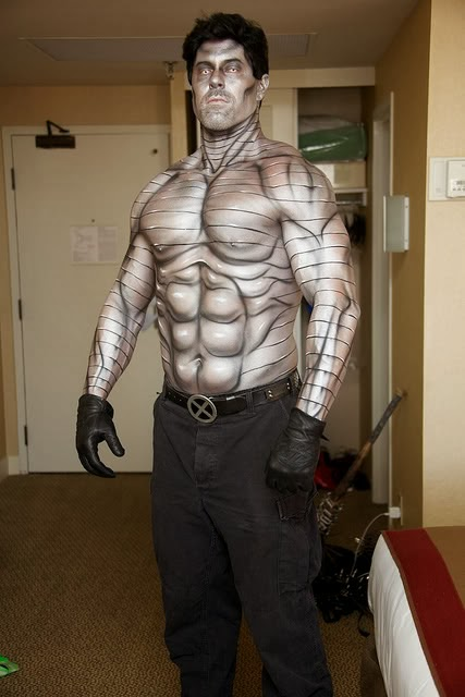 cosplay et body paint de colossus