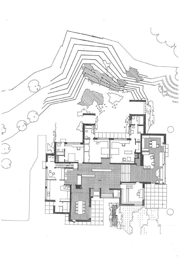 Alvar aalto a f a s i a for Plan maison carre