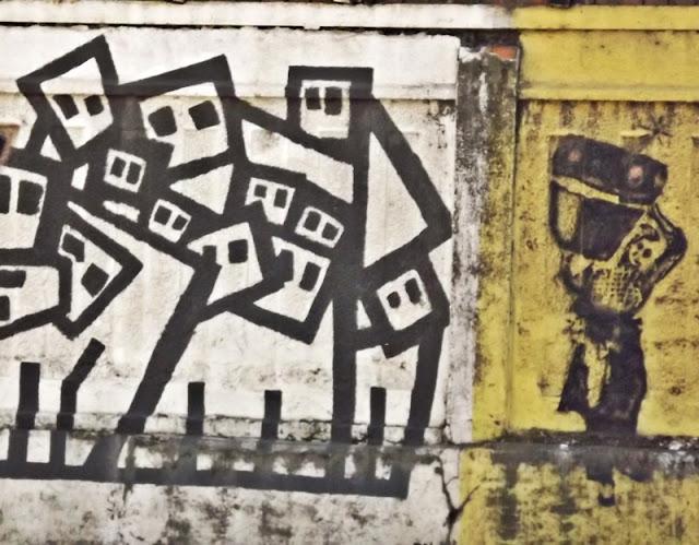 Murals in Zagreb