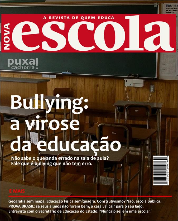 Revistas com capas realistas Novaescola_sincera