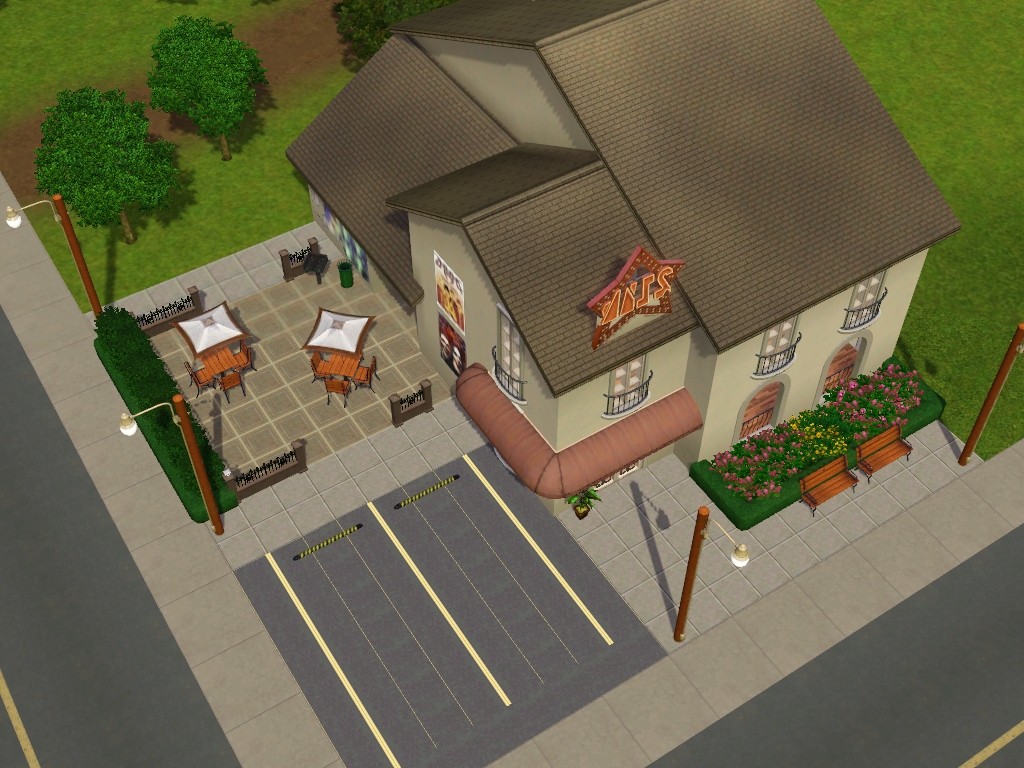 my sims 3 blog bookworm coffee house by my sim realty