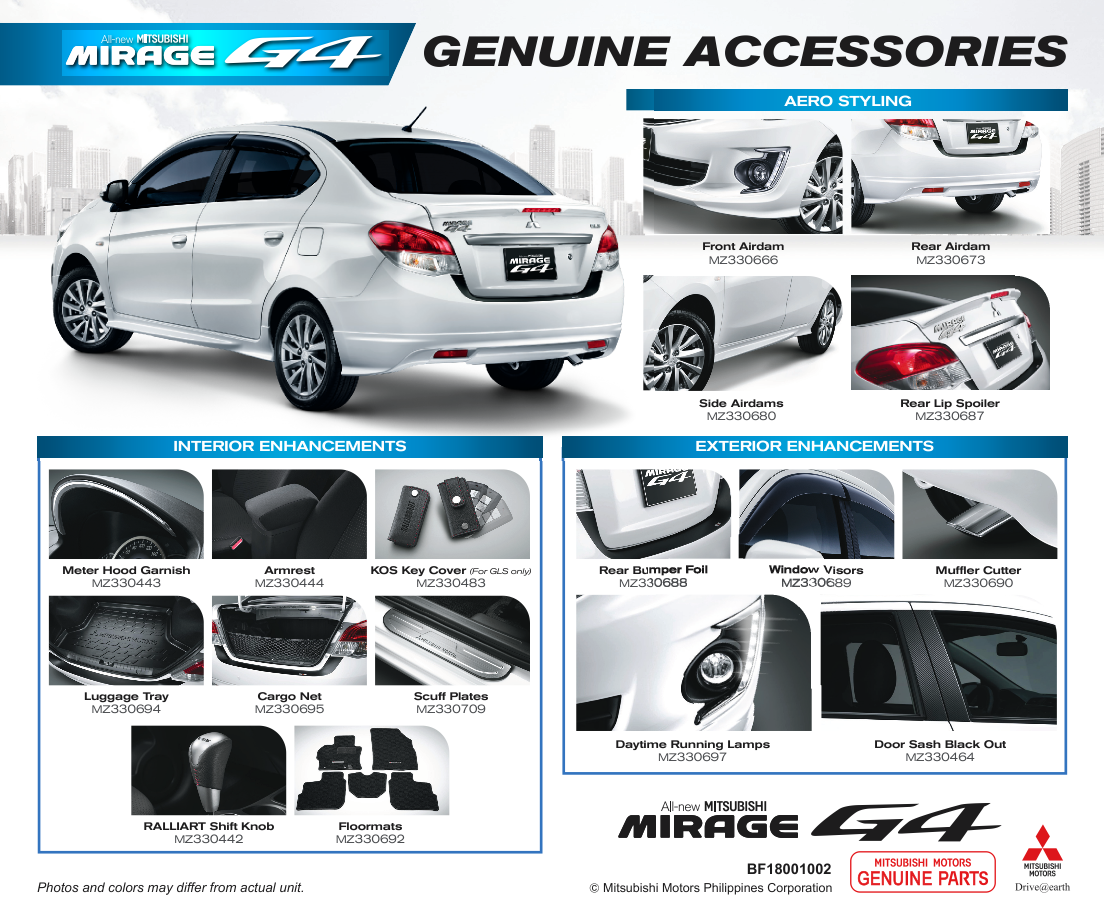 Mitsubishi Motors Philippines Unveils All New Mirage G4 W
