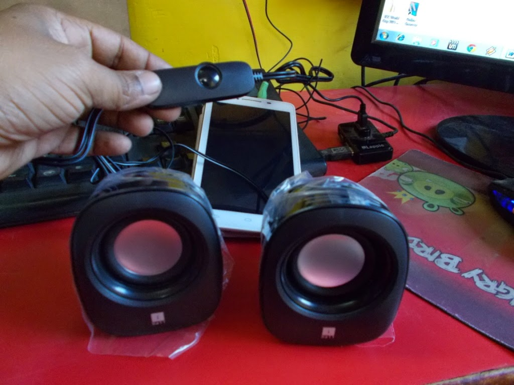 Best Budget Mini Speaker for Laptop, Desktop, Smartphone & Tablet (iball soundwave 2)