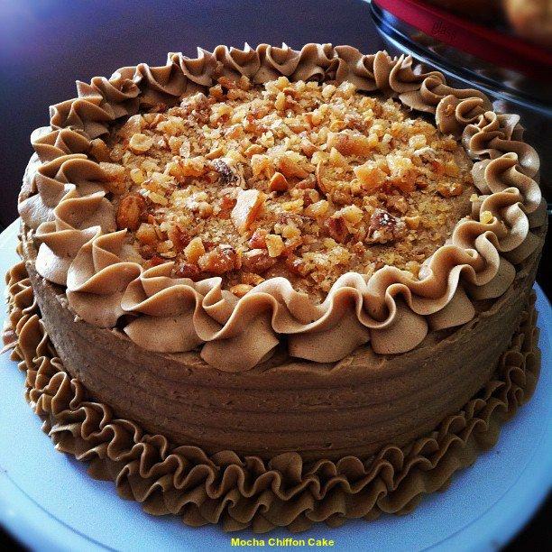 Tips Recipe Mocha Chiffon Cake 2015
