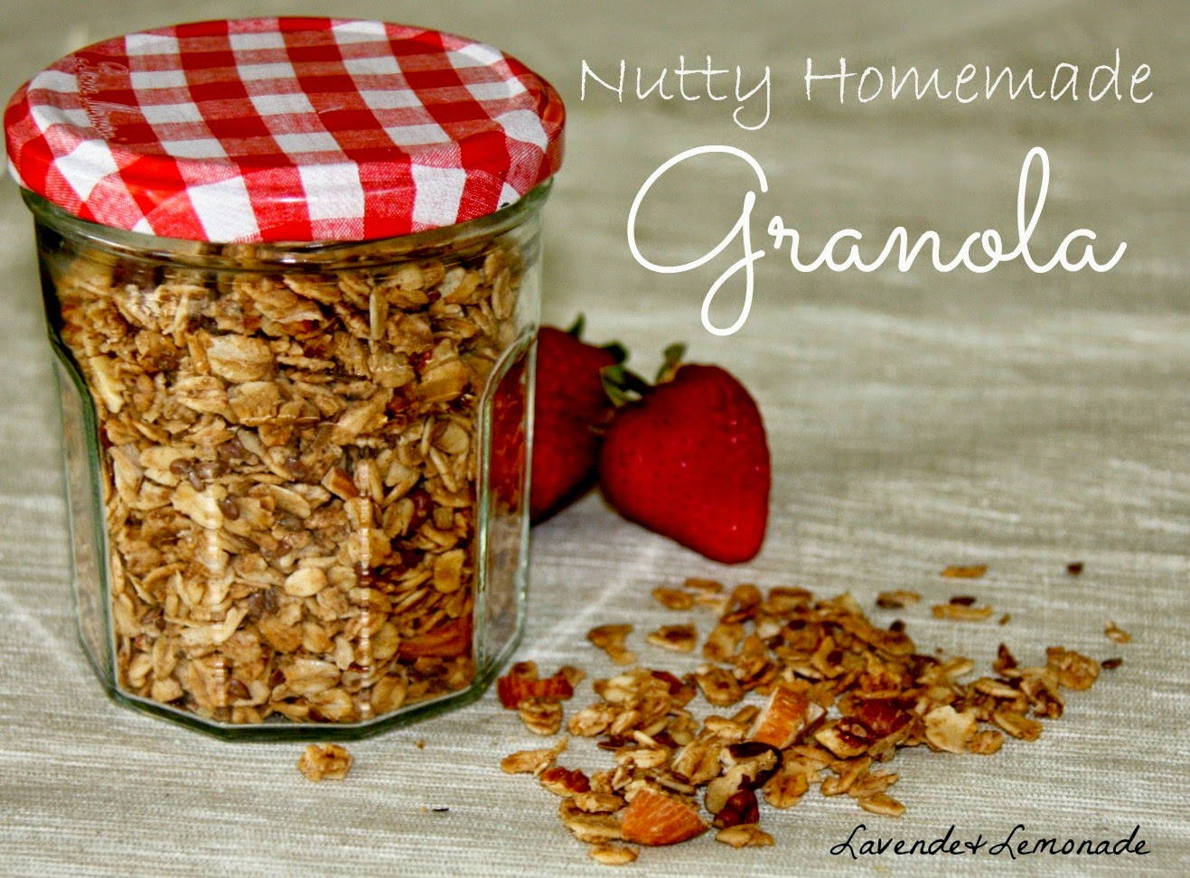 Lavende&Lemonade | Nutty Homemade Granola